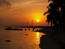 Keys Sunset Royalty Free Stock Photo