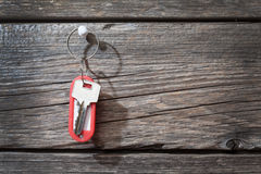 Keys with a tag Royalty Free Stock Image