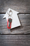 Keys with a tag Royalty Free Stock Images