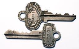 keys tappning Royaltyfri Fotografi