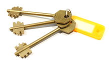 The keys Royalty Free Stock Photos