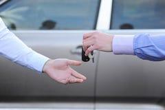 Keys to the car Stock Photo
