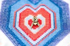 Keys to the frozen heart Stock Photography