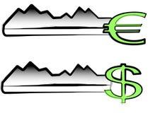 Keys to money Stock Photography
