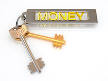 Keys to money Stock Photos