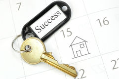Keys to new home Royalty Free Stock Images