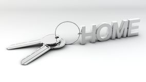Keys to new home Stock Image