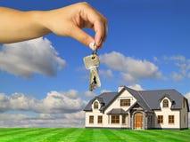 Keys to new house Stock Photography