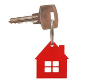 Keys to a new house Royalty Free Stock Photos