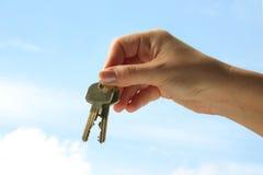 Keys to paradise Royalty Free Stock Photos