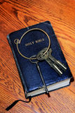 Keys to Scripture  Royalty Free Stock Image