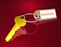 KEYS TO SUCCESS Stock Photo