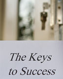 The Keys to Success Royalty Free Stock Images