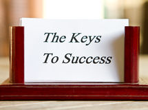Keys to success Stock Photos