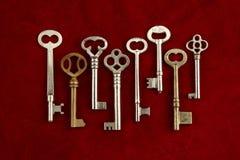Keys To The Castle Stock Photos