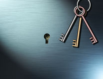 Keys to wealth Royalty Free Stock Photos