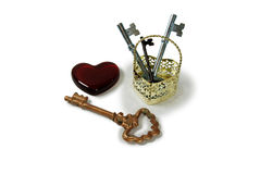 Free Keys To Your Heart Stock Image - 6699561