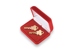 Keys to your new home royalty free stock photo