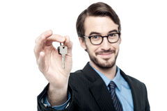 Keys to your new home ! Stock Images
