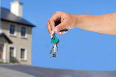 Keys to your new house Royalty Free Stock Photos