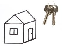 Keys to your own house Stock Photo