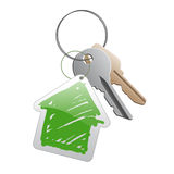 Keys_with_trinket Stock Photography
