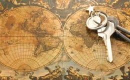 keys världen arkivbild