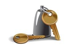 Keys vector illustration Royalty Free Stock Photo