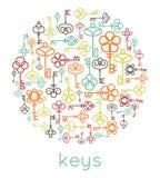 Keys vector Stock Photo