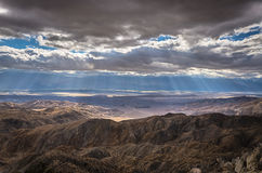 Keys View - Joshua Tree National Park - California stock images