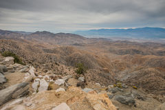 Keys View in Joshua Tree National Park Royalty Free Stock Images