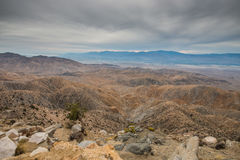 Keys View in Joshua Tree National Park Stock Image