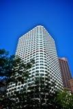 Keystone building in boston. Daytime view of the keystone building in boston, usa Royalty Free Stock Photos