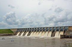 Keystone Dam in Oklahoma Stock Images