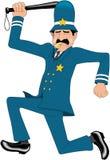 Keystone policjant kreskówki wektoru ilustracja royalty ilustracja
