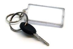 Key with keyring Stock Photography