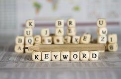 keyword foto de archivo