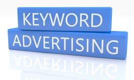 Keyword Advertising Royalty Free Stock Photo