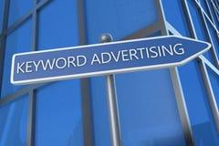 Keyword Advertising Royalty Free Stock Photos