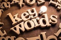Keyword Idea Topic royalty free stock photo