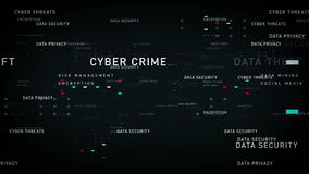 Keywords data security black. Important terms about data security pass through cyberspace. All clips are available in multiple color options. All clips loop