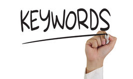 Keywords Royalty Free Stock Image