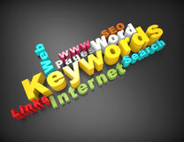 Keywords,internet,search Stock Images
