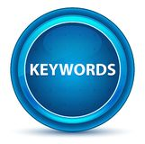 Keywords Eyeball Blue Round Button vector illustration