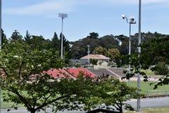 Kezar Stadium, rebatizado Bob St Clair, 2 imagens de stock