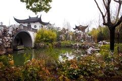 Kezhiyuan ogród, Zhujiajiao, Szanghaj, Chiny Fotografia Royalty Free