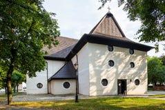 Kezmark, Slovakia. Old Articular Church Stock Image