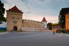Kezmarok, Σλοβακία Στοκ Φωτογραφίες