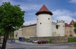 Kezmarok, Словакия - 15-ое мая 2013: Замок Thokoly в Kezmaro Стоковые Фото