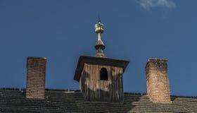 Kezmarok castle in summer morning. Kezmarok castle in summer sunny hot morning royalty free stock image